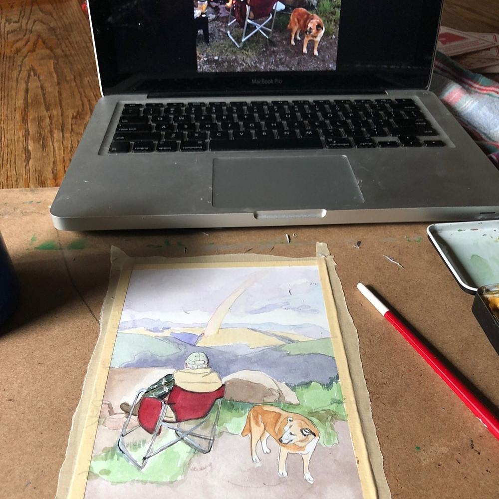Jessica Shasha Artist Equine art Life Equestrian