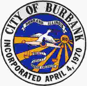 city of burbank illinois logo