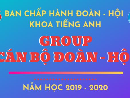 THÔNG BÁO VỀ BCH CÁC CHI ĐOÀN NĂM HỌC 2019-2020
