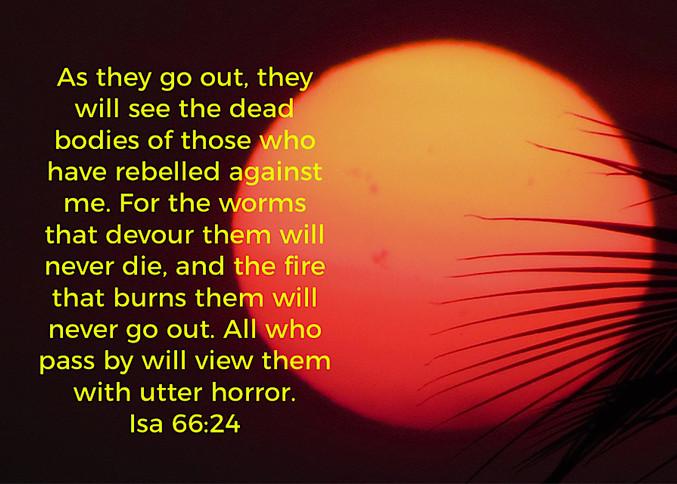 Hell 2 - Biblical Description