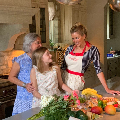 LEARNING MORE THAN COOKING WITH MY MOM IN THE KITCHEN…
