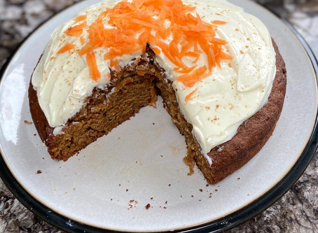 Carrot Cake - means it's healthy right?!