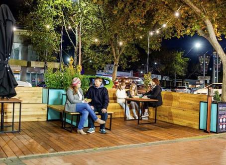 Tactical Urbanism - Alfresco Parklets in Wyndham Sep 2020