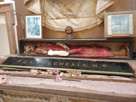 La chiesetta con la reliquia