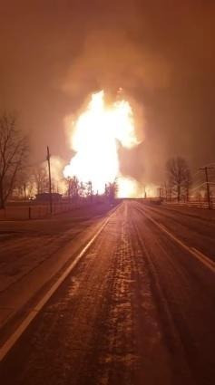 Pipeline rupture in Audrain County