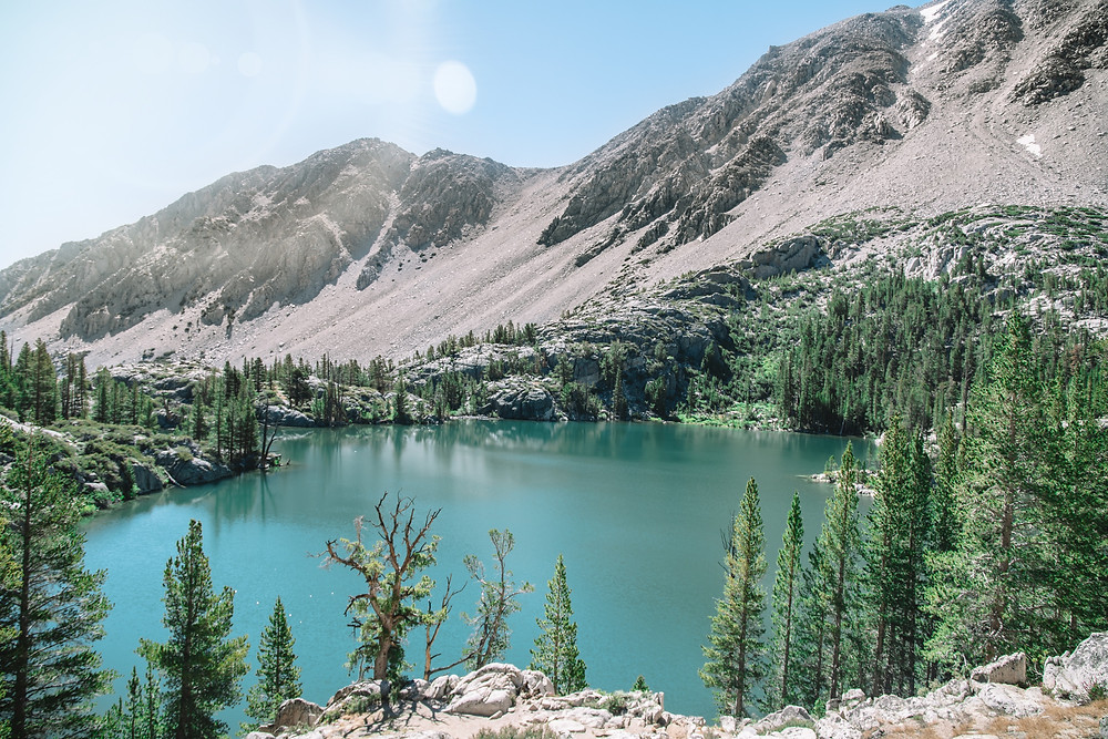 Big Pine Lakes Trail, Lake 1