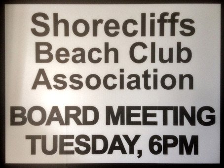 New Time for HOA Meetings