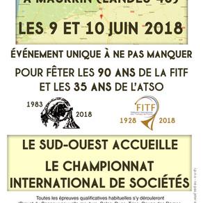 Concours International de Sociétés  2018