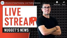 🎬 Nugget's News: Bitcoin Monthly Candle Close - Live Trading Session