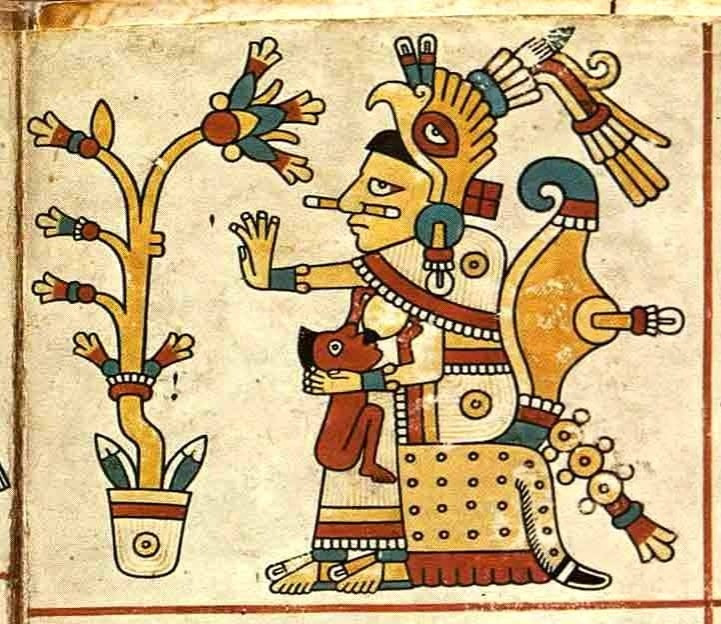 Xochiquetzal from the Codex Fejérváray-Mayer