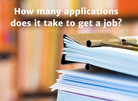 How Many Applications Does it Take to Get a Job?