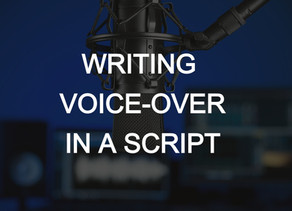 Writing Voice-Over (V.O.) in a Script