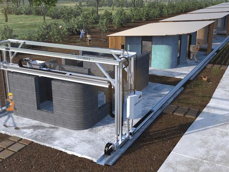 Mesin Cetak Beton Tiga Dimensi (3D) adalah Masa Depan Arsitektur & Konstruksi