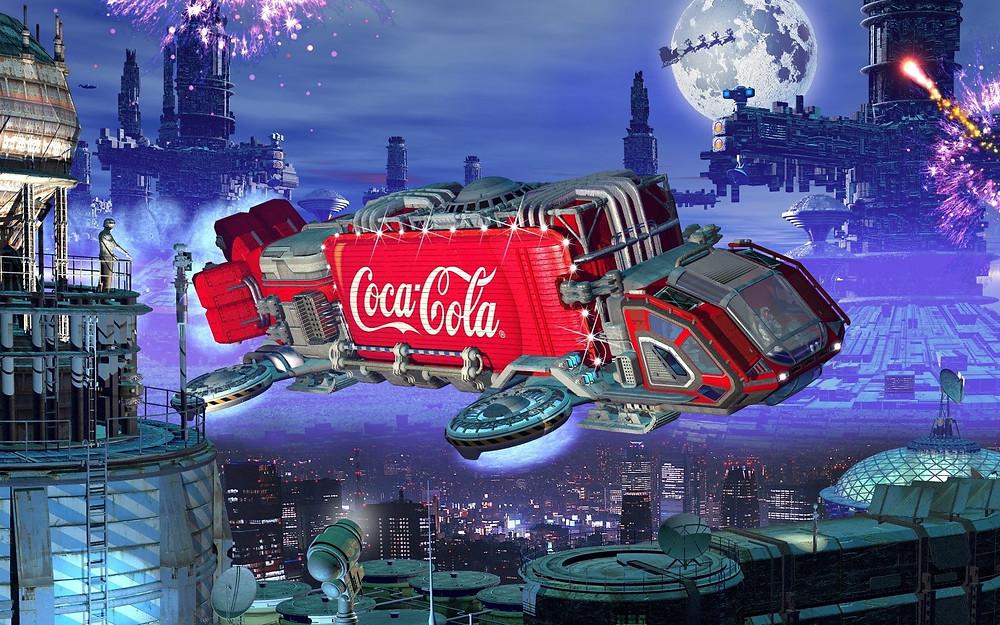 Anuncio de Coca-Cola: Futurista.