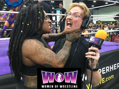 Women of Wrestling at LACC