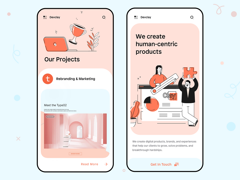Creative Agency • Mobile website 🏆