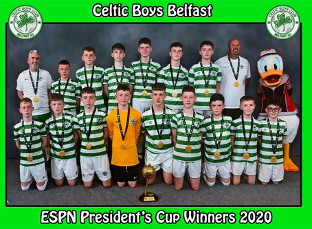 De La salle year 10 pupils go on a trip of a lifetime with the 'Celtic boys' to Orlando