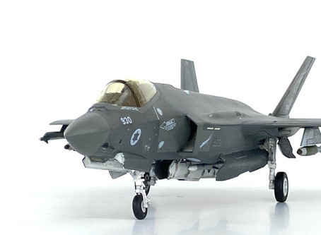 """Lions of the South 116 sq F-35i Adir -  Academy 1/72 F-35A """"7 Nations Air Force"""""""