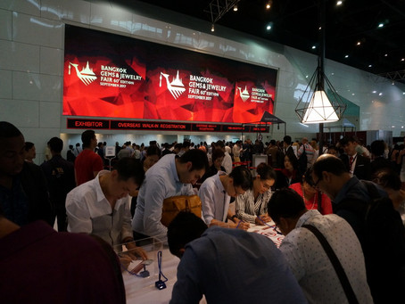 Video from Jewelry fair Bangkok and Jewelry Exhibition in Hong Kong