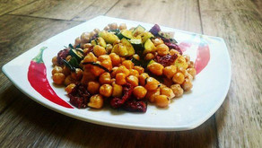 Cizrna slilkem a sušenými rajčaty zdravý recept