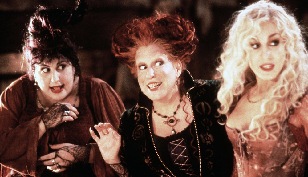 The Sanderson Sisters: Mary, Winifred, and Sarah