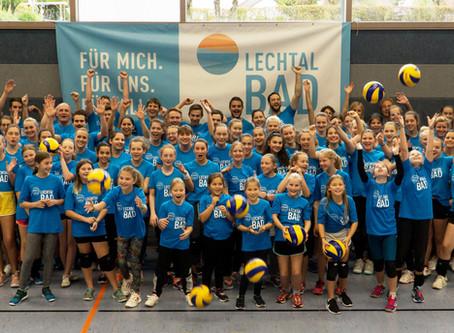 Jugendarbeit wird geehrt - Lechrain Volleys erhalten Förderpreis des Bezirks Oberbayern!!