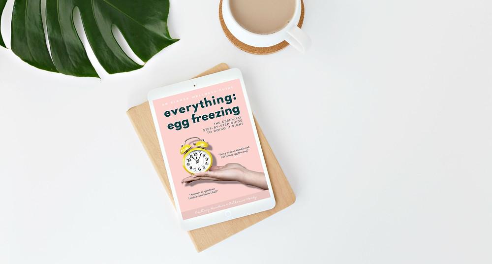 Everything Egg Freezing book, ELANZA Wellness