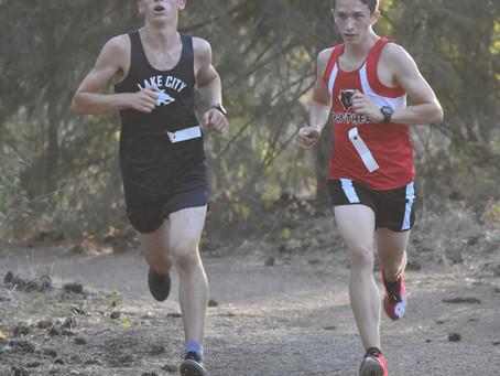 Lake City's Bazler Battles for Win at Post Falls River Run