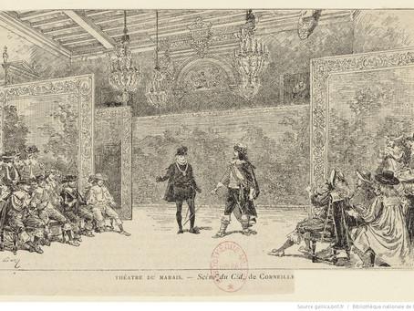 Сценическое фехтование во французском театре XVII века