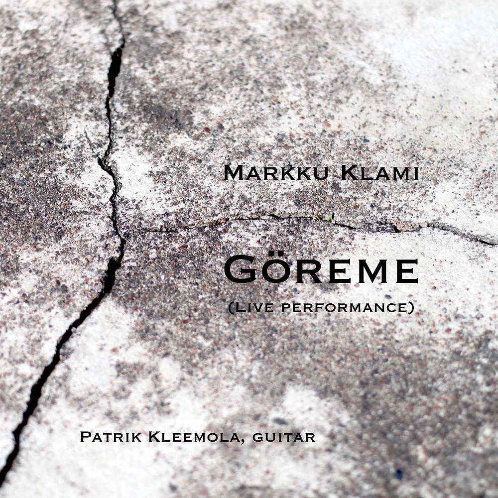 The cover of Göreme on streaming platforms. Photo & design by Markku Klami.