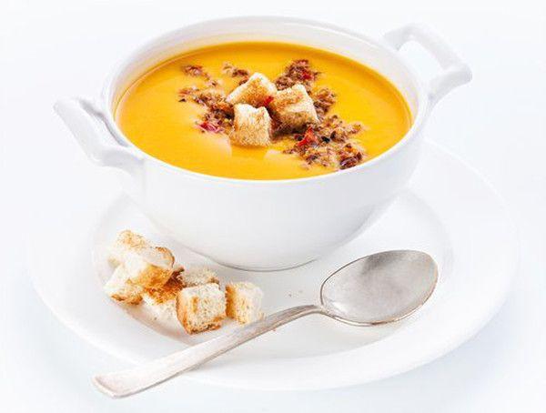 Dýňová polévka zdravě