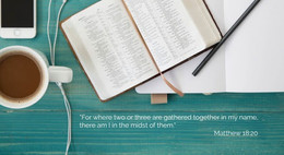 Meeting Together On-Line Around God's Word (Matthew 18:20)