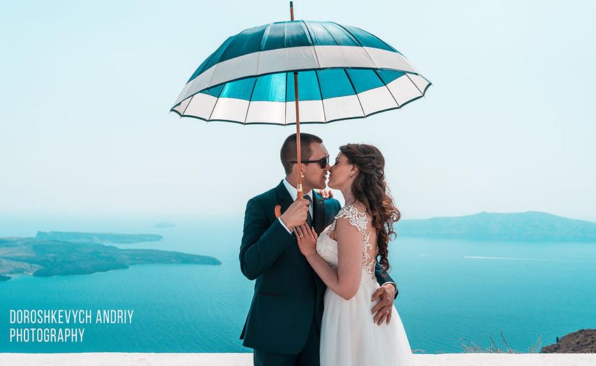 Свадьба на Санторини!