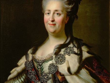 85.  Catherine the Great- The Reign of Golden Era in Russian History