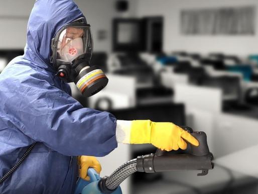 Proč zvolit plošnou dezinfekci prostor?