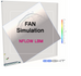 FAN Simulation, NFLOW LBM