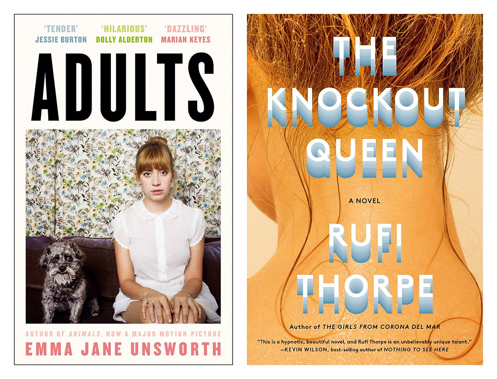 The Book Slut bookshop, book shop buy books online adults by emma jane unsworth, the knowck out queen by rufi thorpe, thebookslut