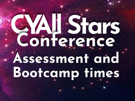 Assessment and Bootcamp times