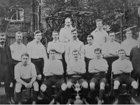 1908: Historic success for Cuckfield Football team celebrated at The Kings Head