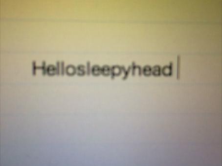 Hellosleepyhead