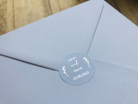NEW LAUNCH - Foiled Envelope Stickers
