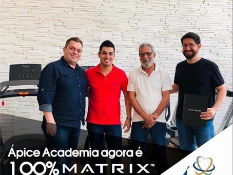 Ápice Academia agora é 100% MATRIX™