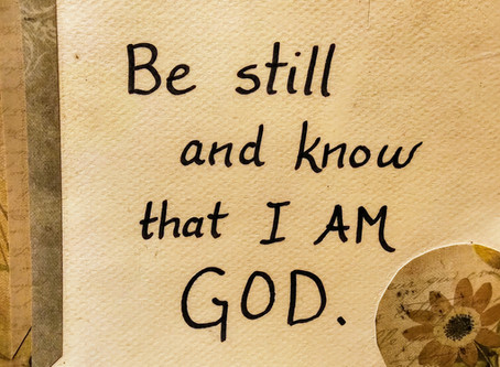 2nd Sunday of Easter (Ages 3-6): Be Still and Know