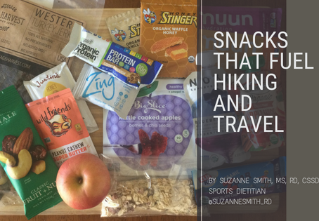 Snacks that fuel hiking and travel