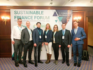 Voltage Group Business Development Director Dmytro Nechyporenko - participant of the SUSFINFORUM