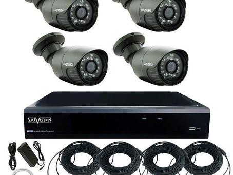 Готовые комплекты видеонаблюдения для самостоятельной установки.