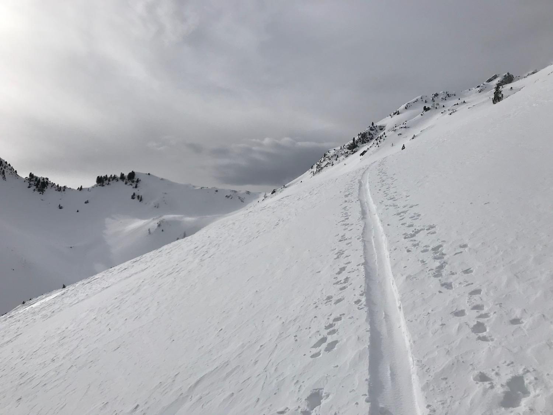 Aufstiegsspur, Gamskopf Inneralpbach