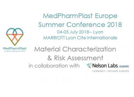 KEY SPEAKERS CONFIRMED - MedPharmPlast Europe summer conference on 4 - 5 July 2018 in Lyon