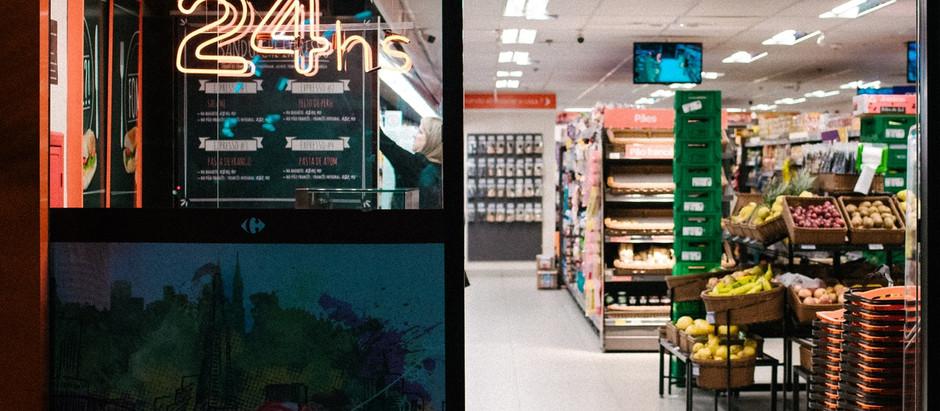 Supermercados registram queda de 5,2% nas vendas