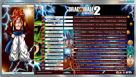 cloudend studio, dragon ball xenoverse 2, hero colosseum, Dbx2 Trainer, Dragon Ball Cheats, cheats trainer, super cheats, cheats, trainer, code, mod, steam, pc, cheat engine, cheat table, save editor, free, game, 100%, fearless revolution, wemod, fling trainer, mega dev, mega trainer, rpg, achievements, cheat happens, 作弊, tricher, tricks, betrügen, trucchi, news, ps4, xbox, hack, glitch, anti eac, bypass eac, easy anti cheat, all gold figures, brianne, android 21, ub, Pet, Companion, dlc 11, 1.15.00,